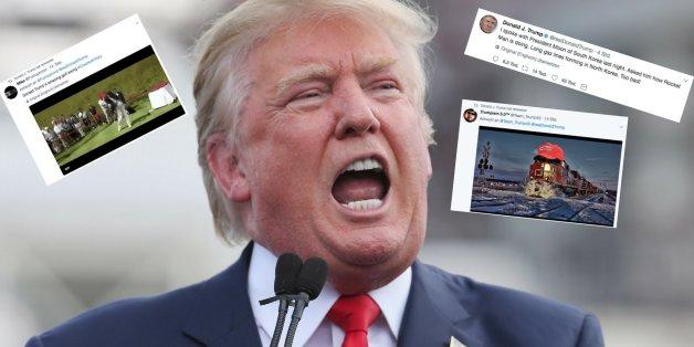Von Elton John bis zu Gewaltvideo: Trump tobt sich mit wilder Twitter-Tirade aus