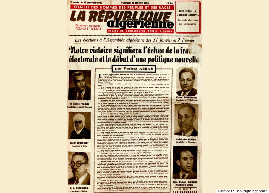 unes de la république algérienne