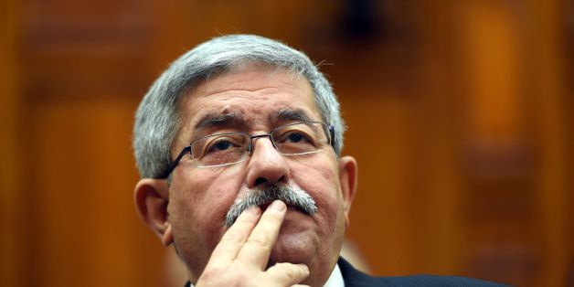 Newly appointed Algerian Prime Minister Ahmed Ouyahia attends a congress session in the capital Algiers on September 4, 2017.  / AFP PHOTO / RYAD KRAMDI / RYAD KRAMDI        (Photo credit should read RYAD KRAMDI/AFP/Getty Images)