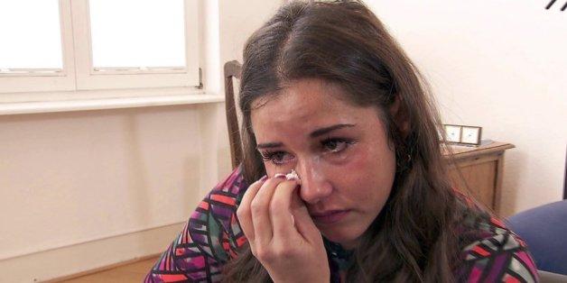 Kann nicht mehr aufhören zu weinen: Sarah Lombardi