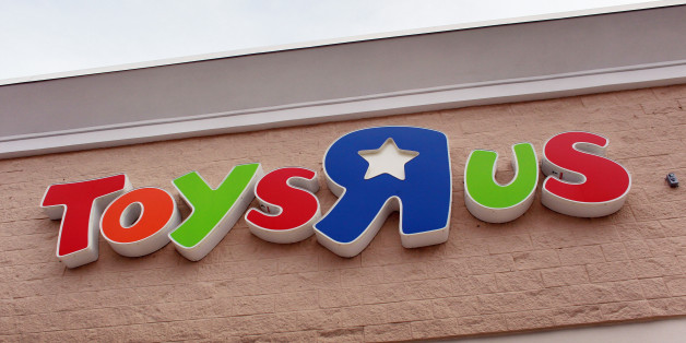 MIAMI - SEPTEMBER 28: The Toys'R'Us sign is seen on the outside of a store on September 28, 2010 in Miami, Florida. Toys'R'Us announced today it will hire about 45,000 employees to help with the holiday season, a larger number than in previous holiday seasons.  (Photo by Joe Raedle/Getty Images)