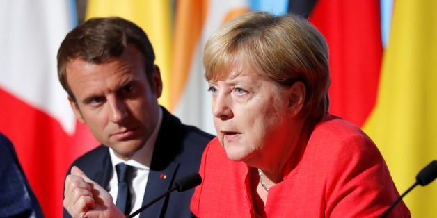 Warum Frankreichs Präsident Emmanuel Macron Angst vor dem Ausgang der Bundestagswahl hat