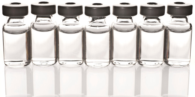 Vials of Medicine or Vaccine