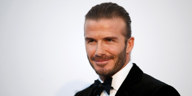 70th Cannes Film Festival – The amfAR's Cinema Against AIDS 2017 event – Photocall Arrivals - Antibes, France. 25/05/2017. David Beckham poses.       REUTERS/Stephane Mahe