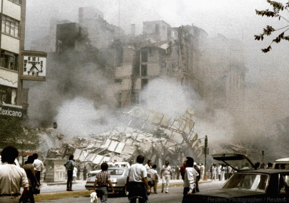 mexico earthquake 1985