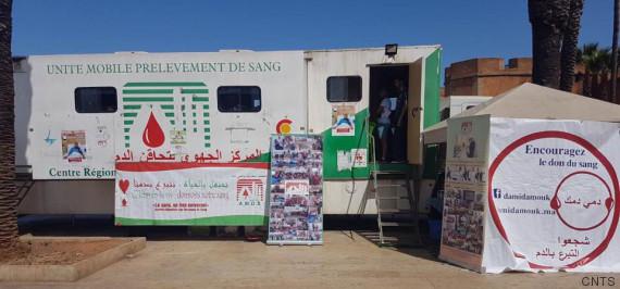 unite mobile don de sang