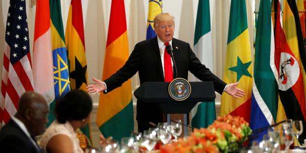 US-Präsident Trump spricht über Afrika - und erfindet ein Land