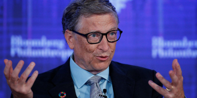 Microsoft co-founder Bill Gates, speaks at the Bloomberg Global Business Forum in New York City, U.S., September 20, 2017. REUTERS/Brendan McDermid