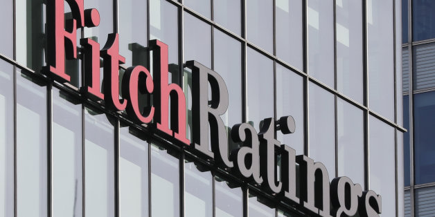 The Fitch Ratings logo is seen at their offices at Canary Wharf financial district in London,Britain, March 3, 2016.  REUTERS/Reinhard Krause