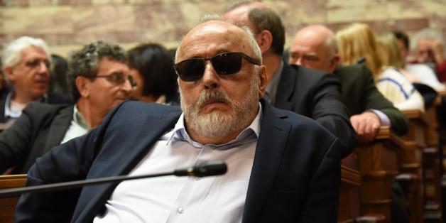 Minister of Interior Panagiotis Kouroublisin Athens, Greece, on April 4, 2016. (Photo by Wassilios Aswestopoulos/NurPhoto via Getty Images)