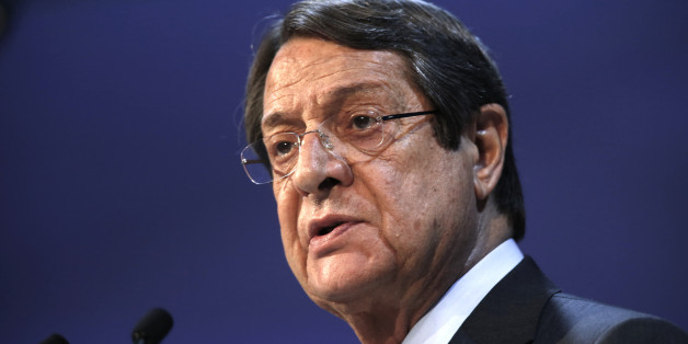 Cyprus' President Nikos Anastasiadis takes part in a European People Party (EPP) summit in St Julian's, Malta, March 30, 2017. REUTERS/Darrin Zammit Lupi