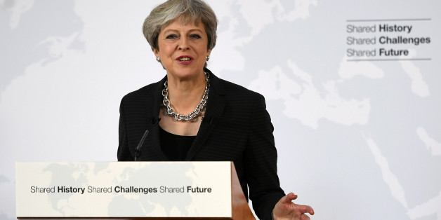 Le Premier ministre britannique s'est exprimé depuis Florence, en Italie.