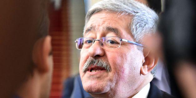 Ahmed Ouyahia à Alger, le 4 septembre 2017