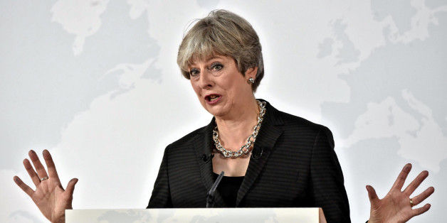 """Sie will beim Brexit """"kreativ"""" sein: Großbritanniens Premierministerin Theresa May"""