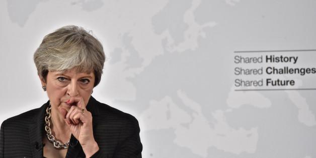 Die 5 wichtigsten Punkte der Brexit-Rede der britischen Premierministerin