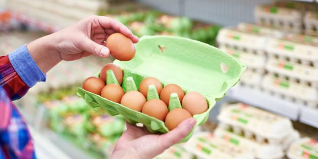 Die Freiland-Eier von Farm Pary können mit Salmonellen belastet sein