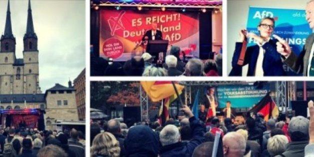 Élections en Allemagne: le HuffPost allemand a suivi une semaine de meetings de l'AfD – et découvert un autre visage du parti