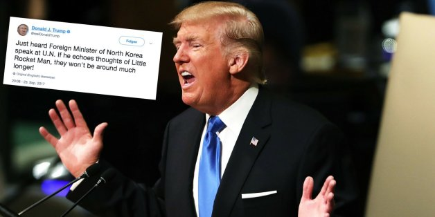 """""""Dann wird es Nordkorea nicht länger geben"""": Trump provoziert mit neuem Tweet"""