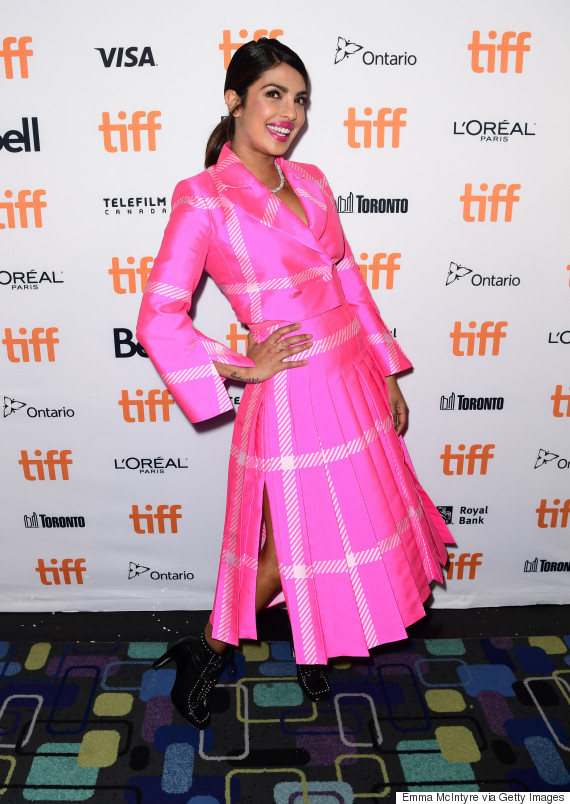priyanka chopra at the toronto film festival