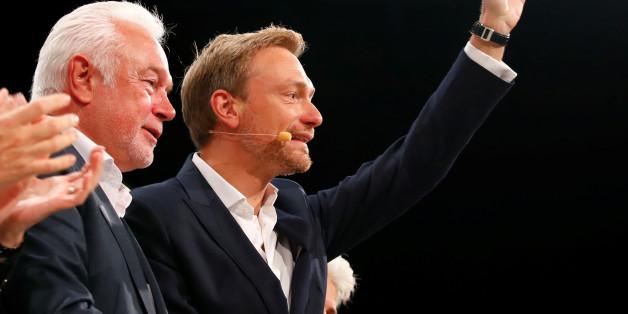 Die FDP ist zurück im Bundestag