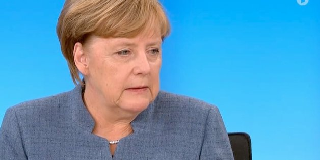 """In der """"Berliner Runde"""" zeigt Merkel, dass sie das Ende der GroKo nicht wahrhaben will."""