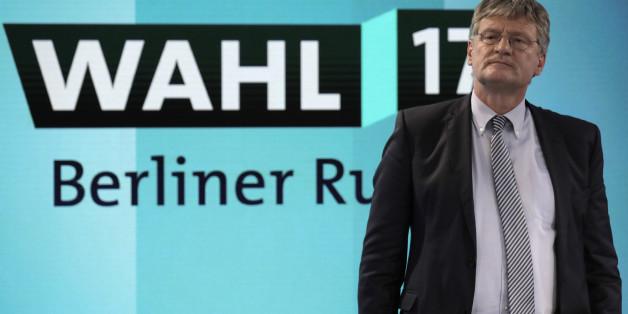 """""""Krawall ist für uns keine Kategorie"""": AfD-Chef Meuthen erklärt die Rolle seiner Partei"""