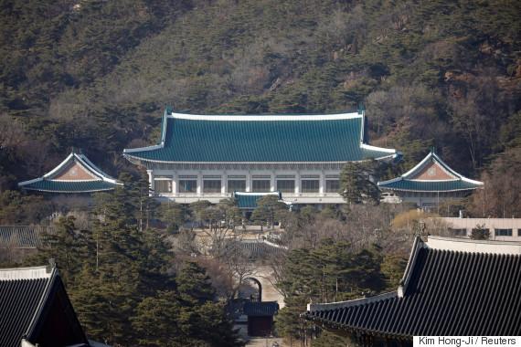 blue house korea