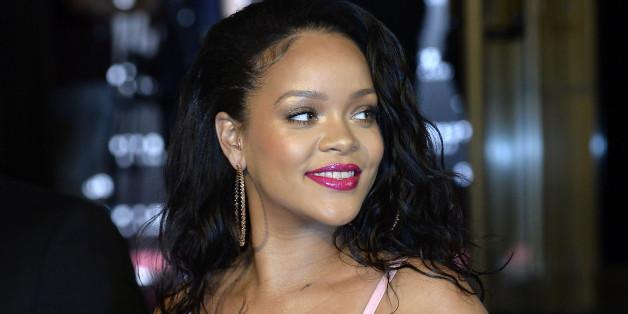 MADRID, SPAIN - SEPTEMBER 23:  Rihanna attends the Fenty Beauty by Rihanna presentation at Callao Cinemas on September 23, 2017 in Madrid, Spain.  (Photo by Fotonoticias/FilmMagic)