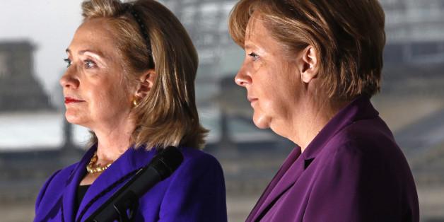 Merkels Clinton-Fehler: Die Kanzlerin hat den Fehler wiederholt, der Trump in den USA so stark machte