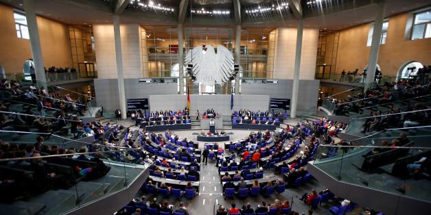 Der Bundestag in der letzten Legislaturperiode