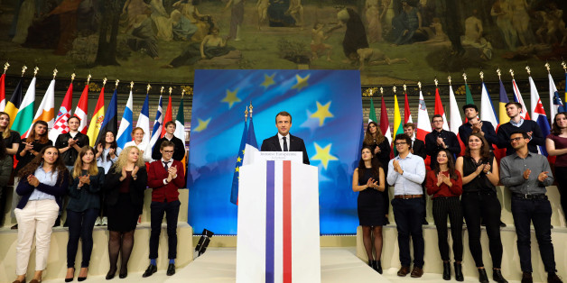 """""""Keine roten Linien, nur Horizonte"""": 4 visionäre Ideen, mit denen Emmanuel Macron die EU erneuern will"""