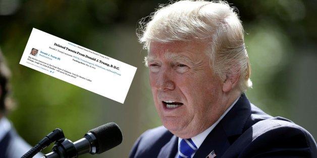 US-Präsident Donald Trump gesteht nicht gerne Fehler ein