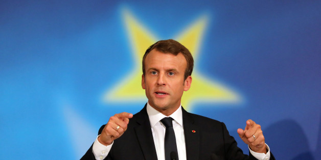 Medien feiern den französischen Präsidenten für seine Europarede - doch ein Fragezeichen gibt es