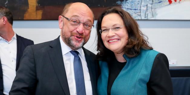 EIL: SPD wählt Andreas Nahles zur neuen Fraktionsvorsitzenden