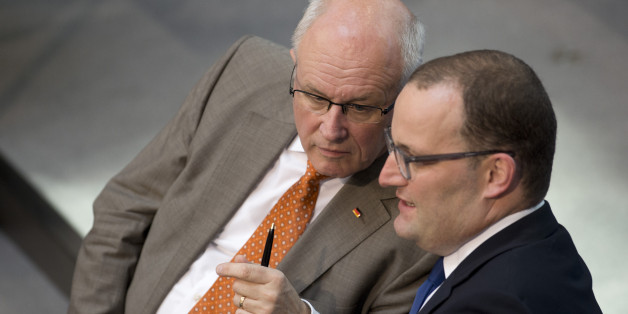Dieser Satz von Volker Kauder zu Jens Spahn sollte nie an die Öffentlichkeit - er zeigt, wie zerstritten die CDU wirklich ist