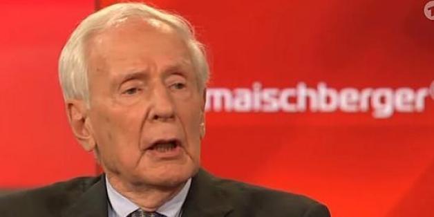 Hamburgs früherer Bürgermeister Klaus von Dohnanyi