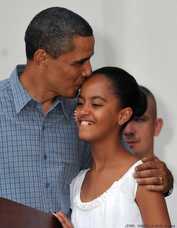 malia obama young