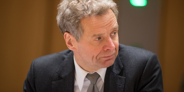 Poul Thomsen, director of the European department at the International Monetary Fund (IMF), looks on ahead of a Eurogroup meeting of euro-area finance ministers at the Europa building in Brussels, Belgium, on Thursday, Jan. 26, 2017. Greece has less than a month to iron out disagreements with its creditors over how to move forward with a rescue package that has been keeping the country afloat since 2010. Photographer: Jasper Juinen/Bloomberg via Getty Images