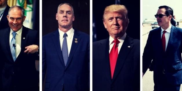 Trumps Schickeria: Wie die Minister des US-Präsidenten Steuergelder für private Zwecke verprassen