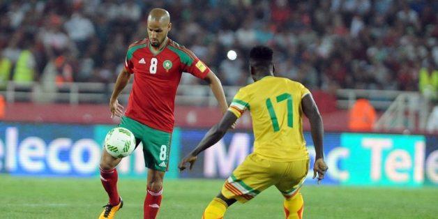 Match Maroc-Mali comptant pour les éliminatoires pour la Coupe du monde, le 1er septembre 2017