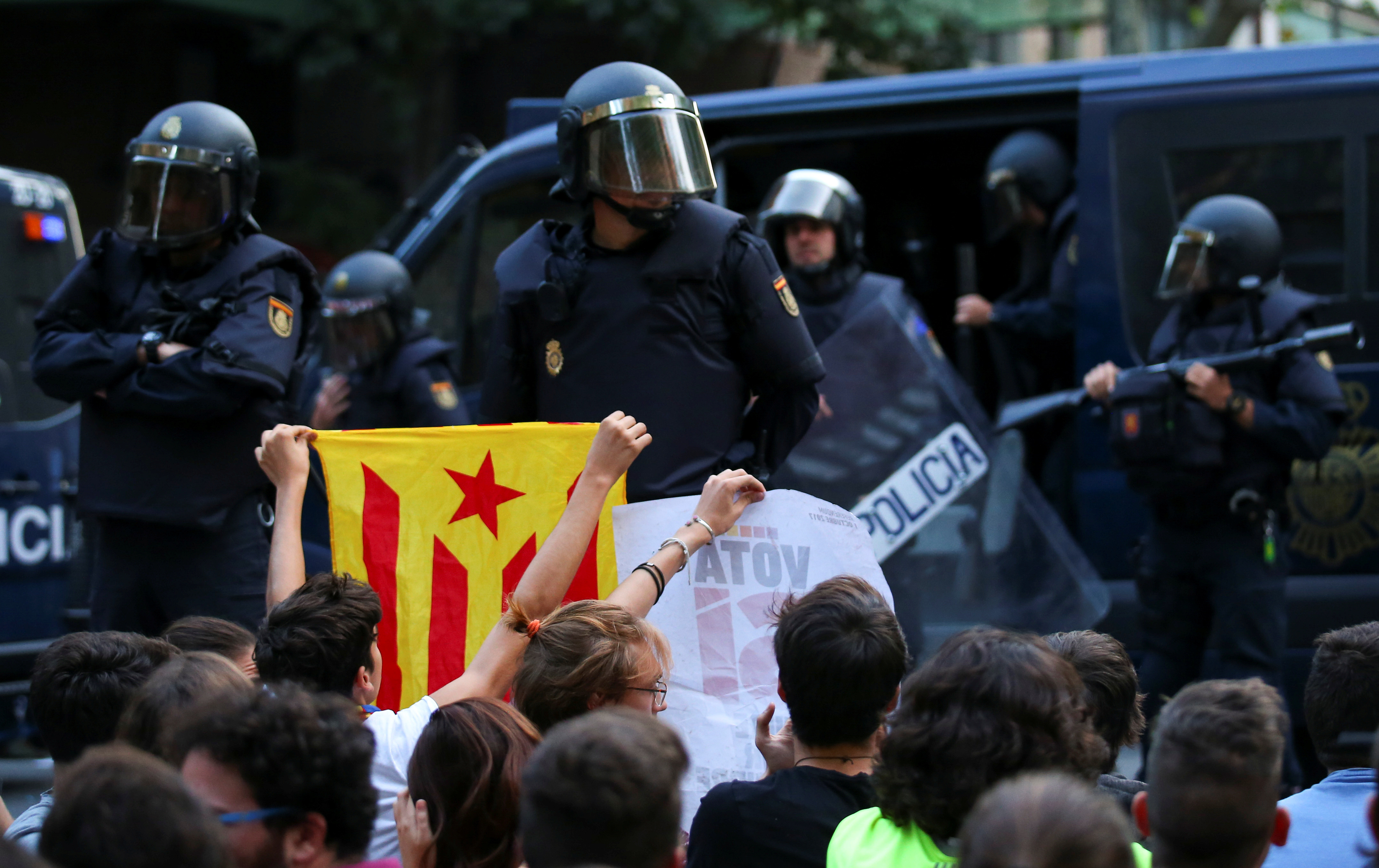 catalonia police