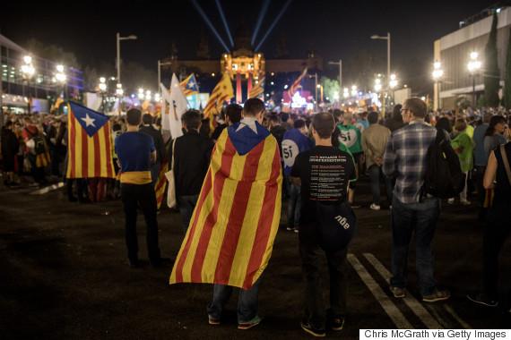 catalan referendum flag