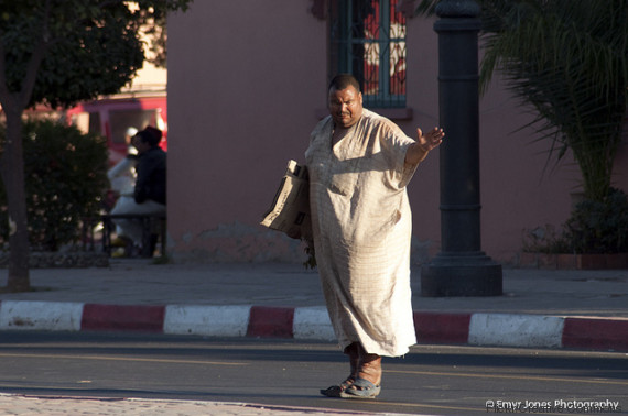 homeless marrakech