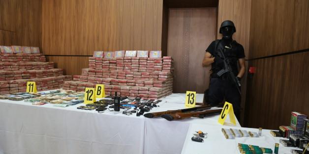 La valeur de la cocaïne saisie lundi par le BCIJ s'élevait à 2,75 milliards de dollars