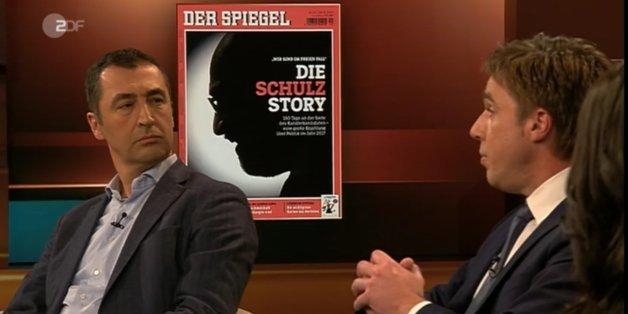 """""""Macht keinen Spaß, wenn so nachgetreten wird"""": Özdemir attackiert """"Spiegel""""-Journalist wegen """"Schulz-Story"""""""