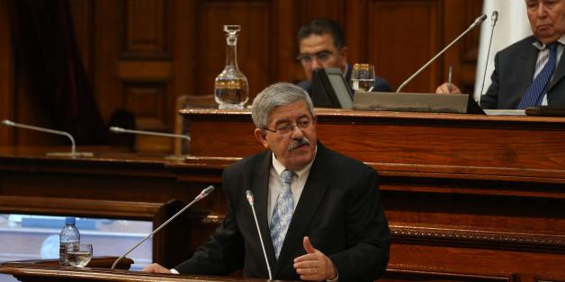 Ahmed Ouyahia au Conseil de la Nation le 27 septembre 2017