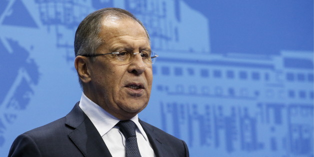 ASTANA, KAZAKHSTAN - OCTOBER 6, 2017: Russia's Minister of Foreign Affairs Sergei Lavrov attends the opening of the 2017 World Forum of MGIMO Alumni at the Independence Palace. Alexander Shcherbak/TASS (Photo by Alexander Shcherbak\TASS via Getty Images)