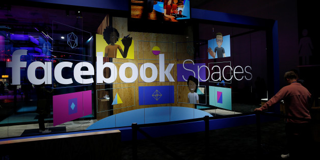 An attendee waits to try the newly announced Facebook Spaces virtual reality platform during the annual Facebook F8 developers conference in San Jose, California, U.S., April 18, 2017. REUTERS/Stephen Lam