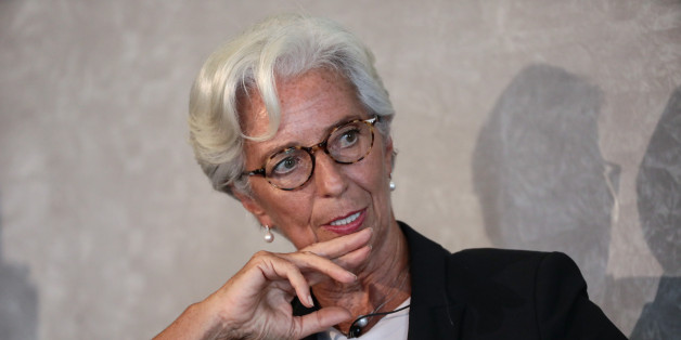 Christine Lagarde, managing director of the International Monetary Fund (IMF), pauses during the Bank of England's 'Independence - 20 Years On' conference at Fishmongers' Hall in the City of London, U.K., on Friday, Sept. 29, 2017. The conference marks two decades of independence from the government. Photographer: Simon Dawson/Bloomberg via Getty Images