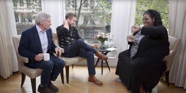 Whiskey und Hysterie: Nach der ersten Frage gerät ein Interview mit Ford und Gosling völlig außer Kontrolle